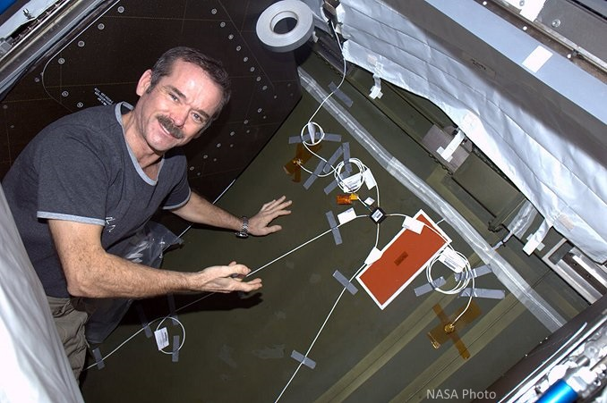 DIDS installed on ISS